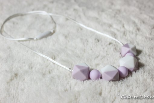 Silicon teething necklace-Tender-Purole